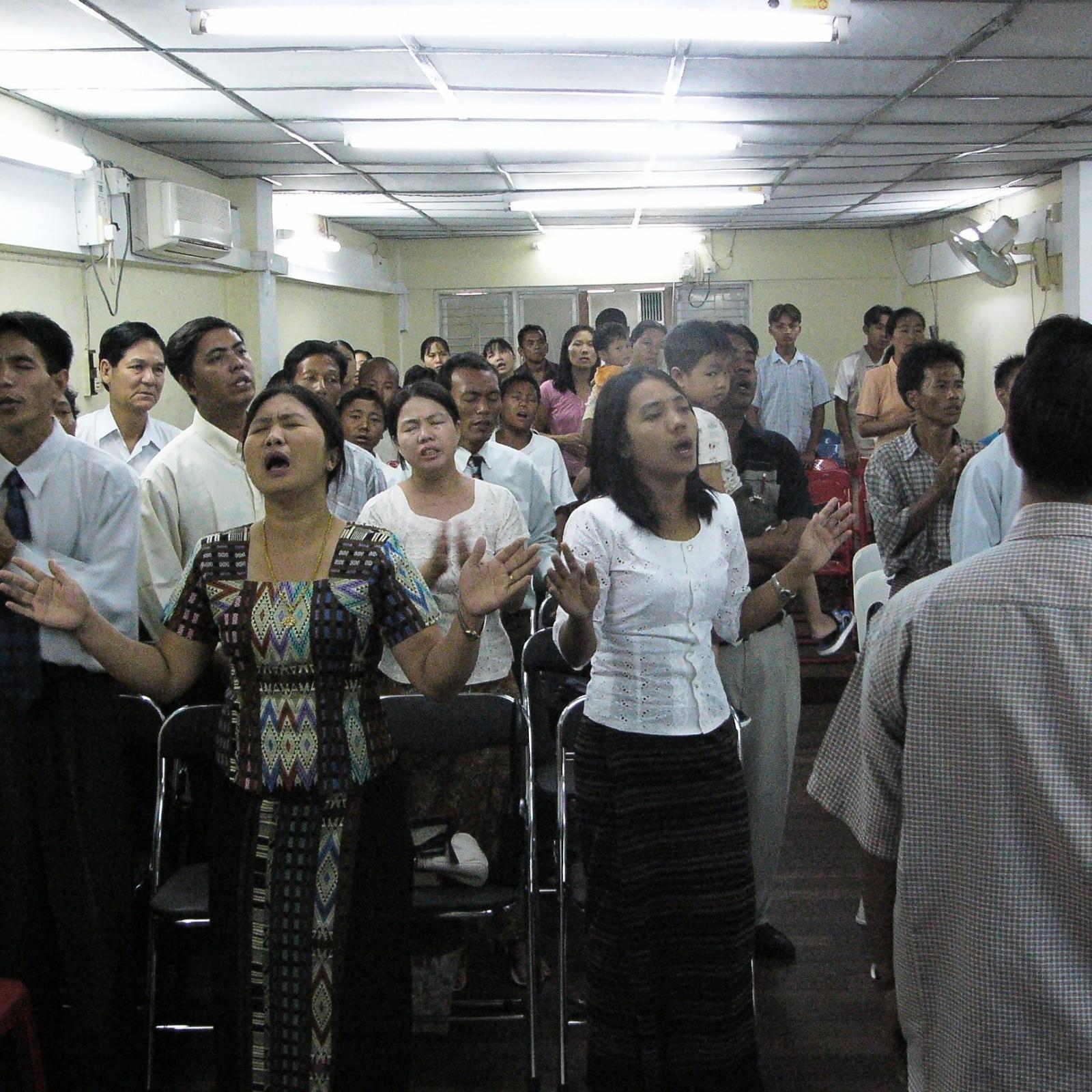 Myanmar church