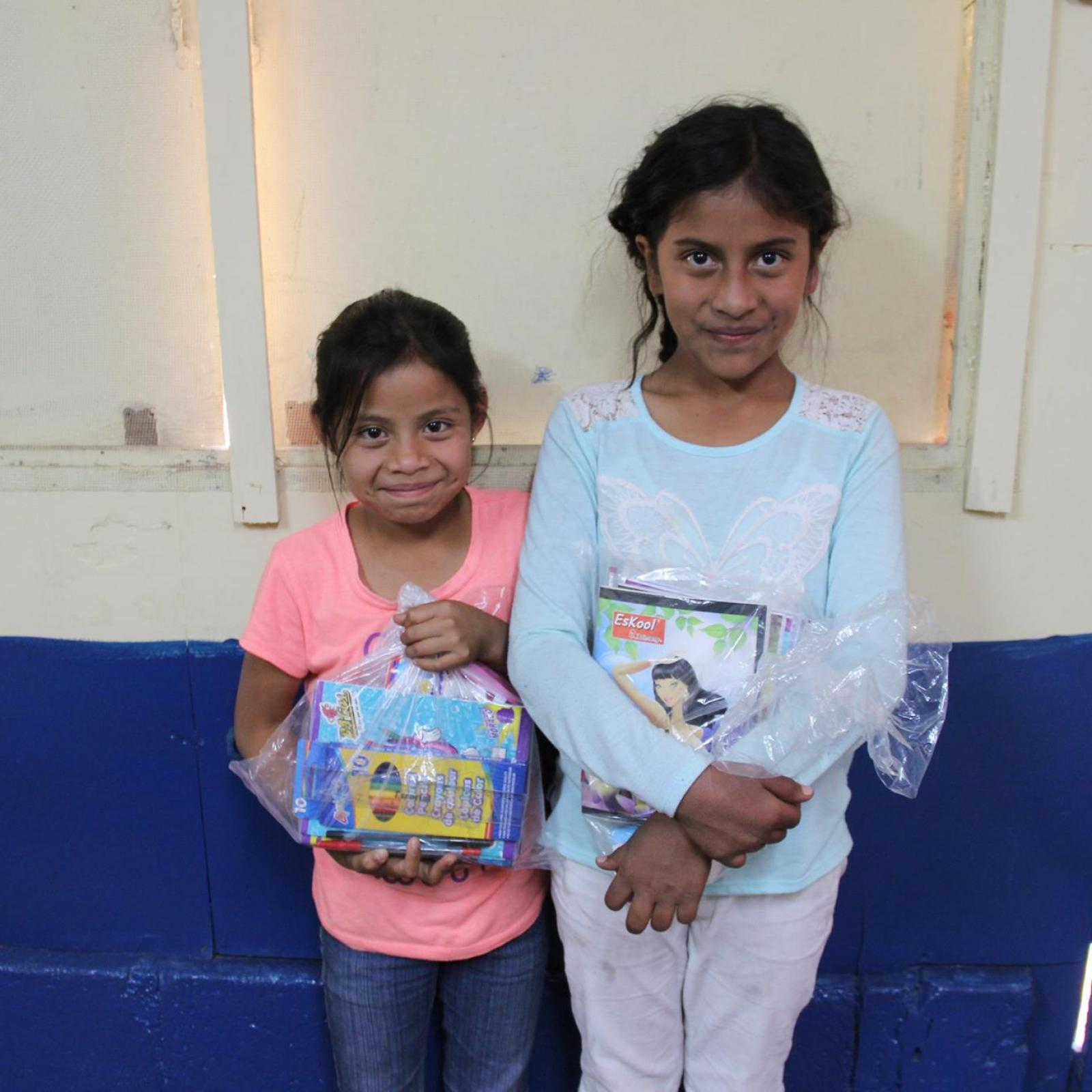 Guatemala sponsored children