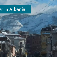 Winter in Albania