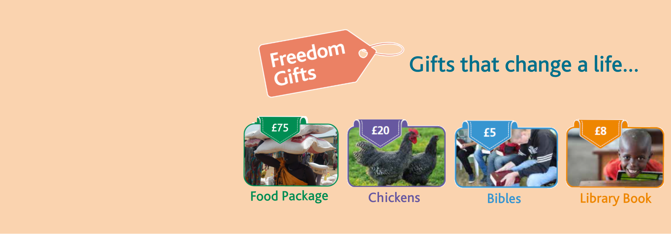 Freedom Gifts appeals image 5