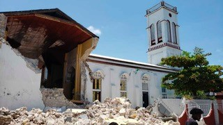 Earthquake 7 hit southern arm of Haiti on August 14.jpg