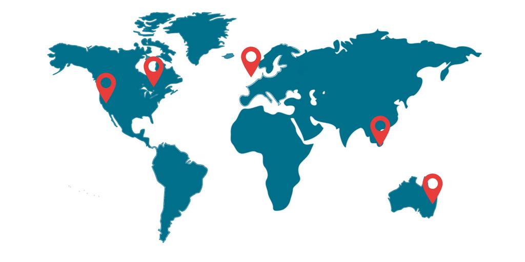 Global alliance map correct