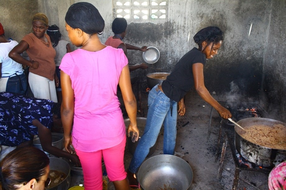 Haiti Easter cooking