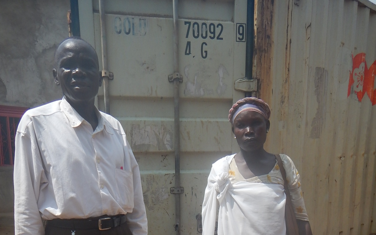 Joseph and wife South Sudan