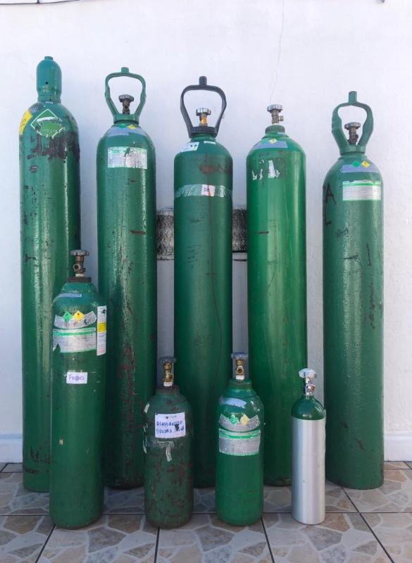 Oxygen tanks Brazil appeal