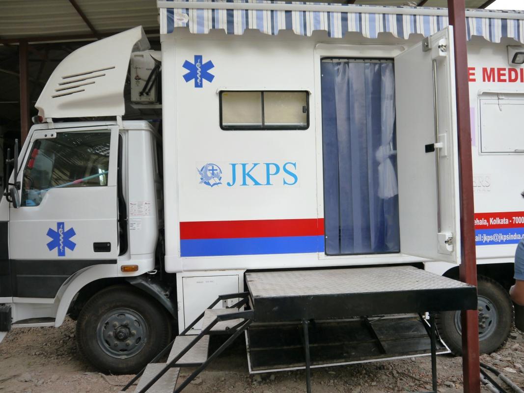 JKPS medical van