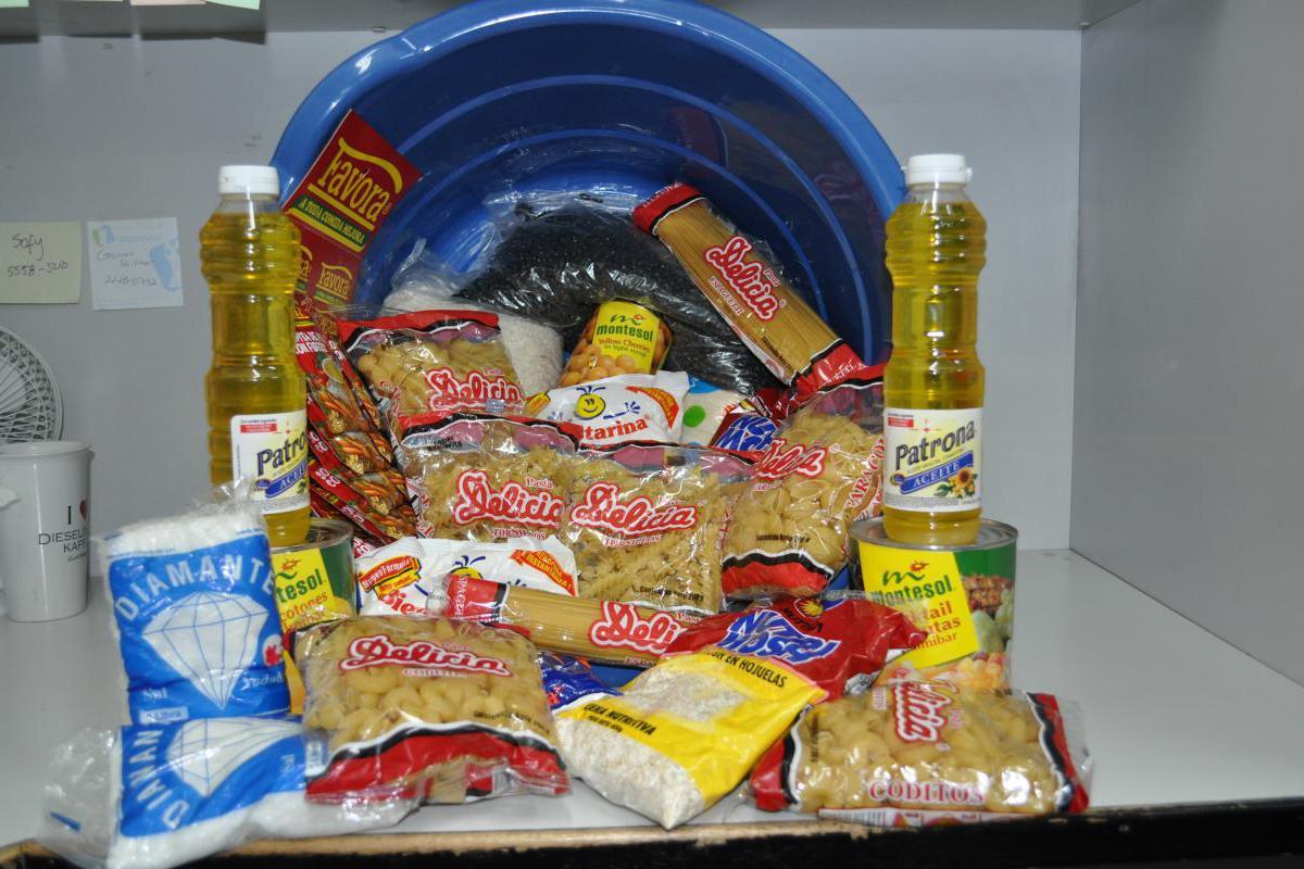 FG Bag of groceries