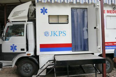 FG Mobile medical clinic