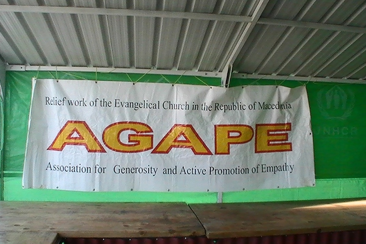 Macedonia agape