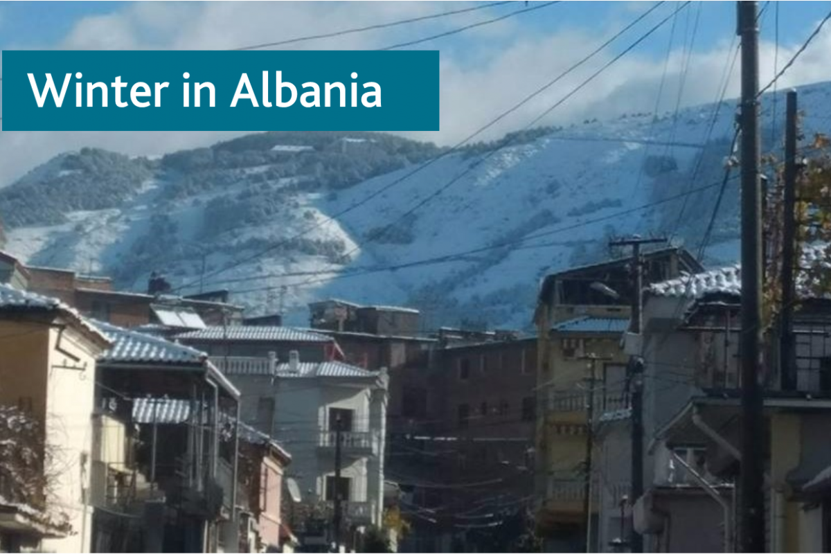 Winter in Albania